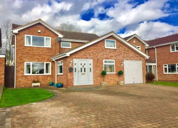 Thumbnail 4 bed detached house for sale in Hedgefield Road, Barrowby, Grantham