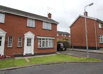 Thumbnail 3 bedroom semi-detached house to rent in Cloverhill Glen, Bangor