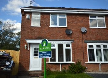 Thumbnail 3 bedroom semi-detached house to rent in Franklyn Close, Perton, Wolverhampton