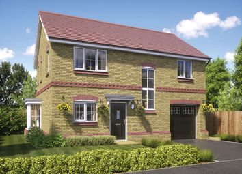 Thumbnail 4 bed detached house for sale in Reynolds Place, Worsley Road North, Walkden
