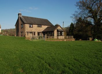 Thumbnail 4 bed detached house for sale in Longtown, Herefordshire