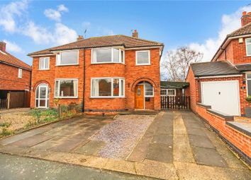 Thumbnail 3 bed semi-detached house for sale in The Ringway, Queniborough, Leicester, Leicestershire