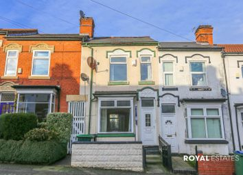 Thumbnail 3 bedroom terraced house to rent in Linden Road, Smethwick