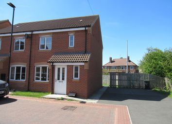 Thumbnail 3 bed semi-detached house for sale in Aidans Close, Doncaster