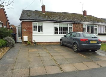 Thumbnail 2 bed semi-detached bungalow for sale in Freemantle Road, Rugby