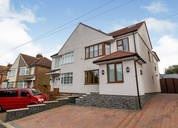 Thumbnail 4 bed semi-detached house for sale in Springhead Road, Northfleet, Gravesend, Kent