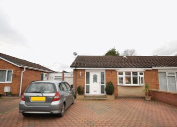 Thumbnail 2 bed semi-detached bungalow for sale in Hornsea Close, Wideopen, Newcastle Upon Tyne
