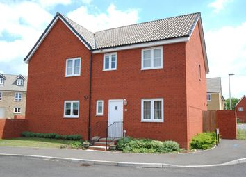Thumbnail 3 bed semi-detached house to rent in Resolution Road, Exeter