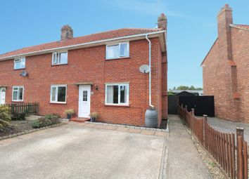 Thumbnail 3 bed semi-detached house for sale in High Road, Wortwell, Harleston