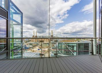 Thumbnail 3 bed flat for sale in Four Riverlight Quay, Nine Elms, London