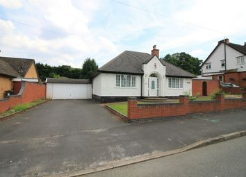 Thumbnail 3 bed detached bungalow for sale in Pineapple Road, Birmingham, West Midlands