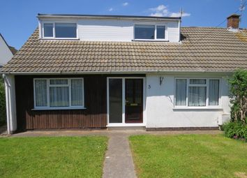 Thumbnail 5 bed semi-detached bungalow for sale in Quantock Road, Portishead