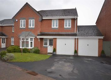 Thumbnail 4 bed detached house for sale in Field Rise Road, Tittensor, Stoke-On-Trent