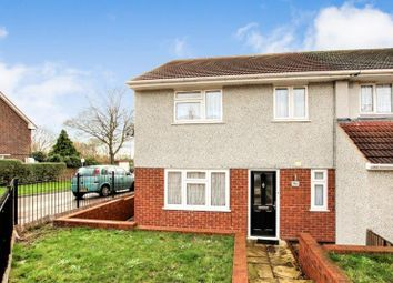 Thumbnail 3 bed semi-detached house for sale in Kingston Hill Avenue, Chadwell Heath, Romford