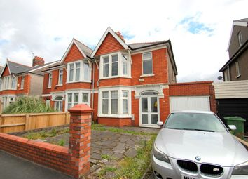 Thumbnail 3 bedroom semi-detached house for sale in Caerphilly Road, Cardiff, Cardiff