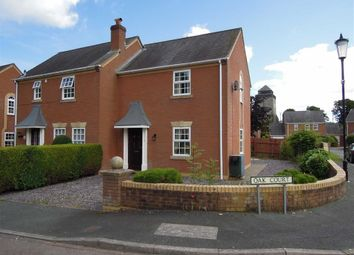 Thumbnail 2 bed semi-detached house to rent in 2, Oak Court, Kerry, Newtown, Powys