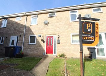 Thumbnail 2 bed terraced house for sale in Merrion Close, Ipswich