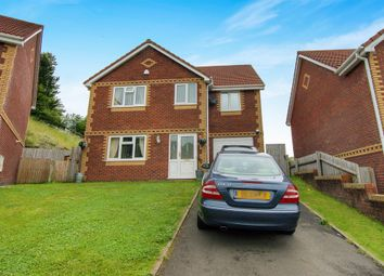 Thumbnail 4 bed detached house for sale in North Rising, Pontlottyn, Bargoed