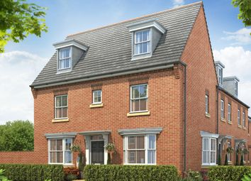 "Thumbnail 4 bed detached house for sale in ""Hertford"" at Rush Lane, Market Drayton"