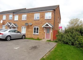 Thumbnail 3 bedroom end terrace house for sale in Nash Close, Corby