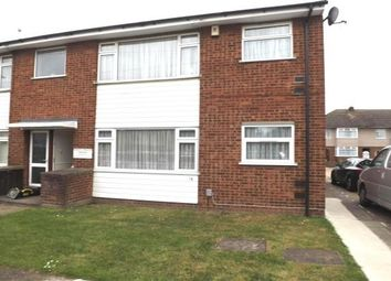 Thumbnail 2 bed flat to rent in Woodside Close, Rainham