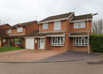 Thumbnail 4 bed detached house for sale in Tiger Close, Woodley, Reading