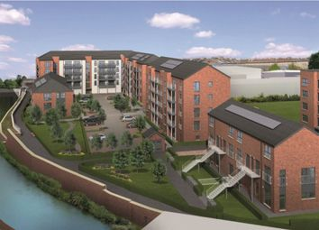 Thumbnail 3 bed flat for sale in Plot 100, Waterside Walk, Bonnington