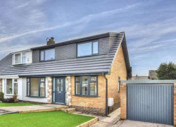 Thumbnail 4 bed semi-detached house for sale in Mendip Drive, Milnrow, Rochdale