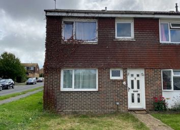 Thumbnail 2 bed end terrace house for sale in Hawkhurst Close, Eastbourne
