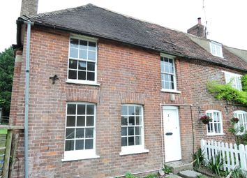 Thumbnail 2 bed semi-detached house to rent in East Brabourne, Ashford