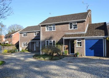 Thumbnail 4 bed detached house for sale in Harwood Rise, Woolton Hill, Newbury, Berkshire