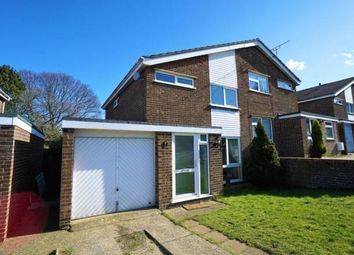 Thumbnail 3 bed semi-detached house to rent in Silverdale Close, Ipswich