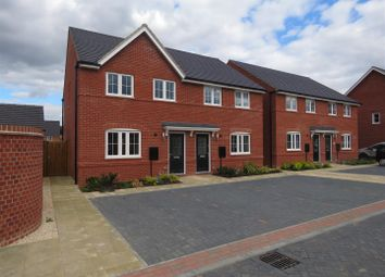 Thumbnail 3 bed semi-detached house to rent in Beck Court, St. Ives, Huntingdon