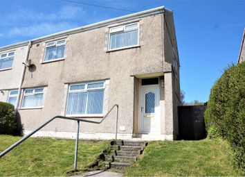 Thumbnail 2 bedroom semi-detached house for sale in Talley Road, Penlan