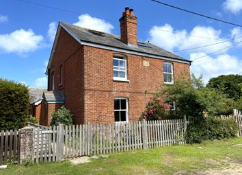 South Weirs, Brockenhurst SO42. 3 bed semi-detached house