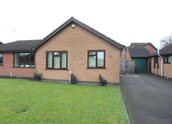 Thumbnail 2 bed semi-detached bungalow for sale in Trent Road, Hinckley