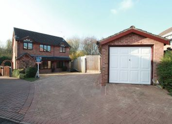 Thumbnail 4 bed detached house for sale in Norfolk Close, Clayton, Newcastle-Under-Lyme
