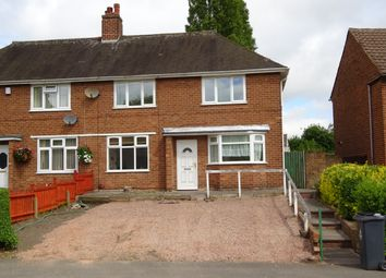 Thumbnail 3 bed property to rent in Churchill Road, Bentley, West Midlands