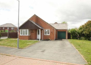Thumbnail 3 bed detached bungalow for sale in Vyrnwy Crescent, Four Crosses, Llanymynech