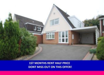 Thumbnail 3 bed detached house to rent in Naseby Drive, Halesowen, West Midland