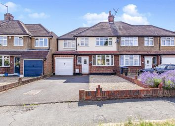 Thumbnail 4 bed semi-detached house for sale in Staines Lane, Chertsey