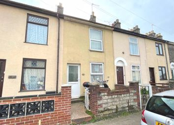 Thumbnail 2 bed terraced house for sale in Trafalgar Road East, Gorleston, Great Yarmouth