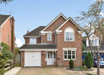 Thumbnail 4 bed detached house for sale in Eliot Close, Camberley