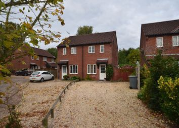 Thumbnail 2 bed semi-detached house for sale in Burton Drive, Rackheath, Norwich