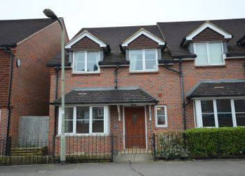 Thumbnail 3 bed end terrace house to rent in Church Lane, Shinfield, Reading