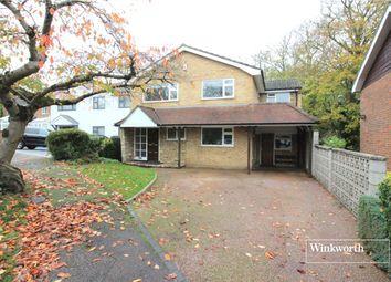 Thumbnail 4 bedroom detached house for sale in Woodside, Elstree, Hertfordshire