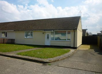 Thumbnail 2 bed bungalow to rent in Bramble Close, Wicken Green Village, Fakenham