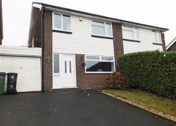 Thumbnail 3 bed semi-detached house for sale in Linnet Close, Offerton, Stockport, Cheshire