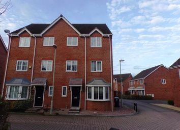 Thumbnail 4 bed town house for sale in Mildenhall Way Kingsway, Quedgeley, Gloucester, Gloucestershire