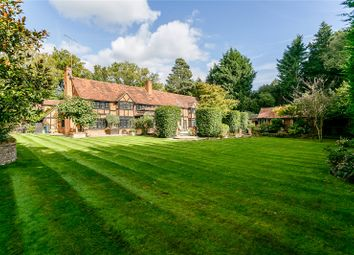 Thumbnail 5 bed detached house for sale in Christchurch Road, Virginia Water, Surrey